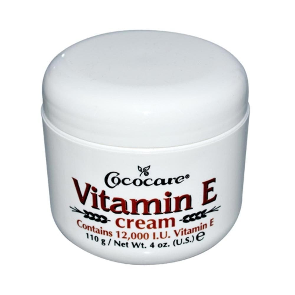 Cococare Vitamin E Cream 4 oz (Pack of 7)