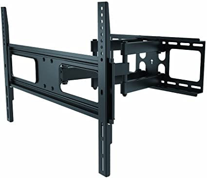 WennoW BLK Full Motion Dual Arm H-Duty Wall Mount for 37-63 LED//LCD Vizio