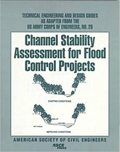 Channel Stability Assessment for Flood Control Projects (Technical Engineering and Design Guides as Adapted from the US Army Corps of Engineers)