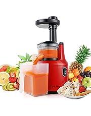 Taylor Swoden Jazz – Licuadora Prensado en Frio, Licuadora Frutas Verduras,Función del Motor Silencioso y Inversa, Licuadoras para verduras y frutas, Fácil de Limpiar con Cepillo,libre de BPA.