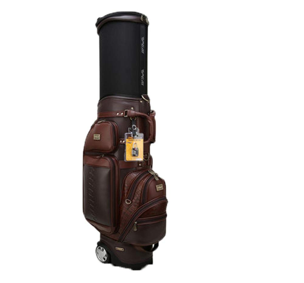 ゴルフクラブバッグウェイカートトロリーバッグカート防水素材とドライポケットシリーズゴルフトロリーカートバッグ B07K45S321