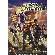 Liga De La Justicia El Trono De Atlantis En DVD