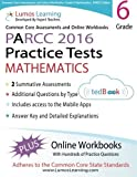 Common Core Assessments and Online Workbooks: Grade 6 Mathematics, PARCC Edition: Common Core State Standards Aligned by Lumos Learning (2014-01-03)