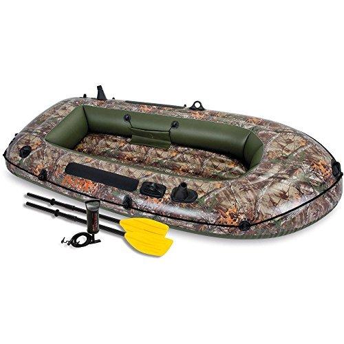 Intex Recreation 2-Person Realtree Seahawk Boat Set