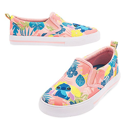 Disney Stitch Slip-On Sneakers for Girls Size 11]()