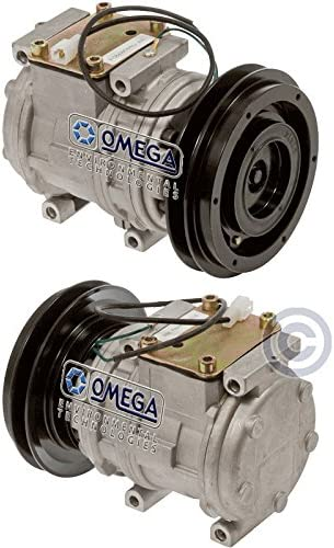 With 1 Groove 152mm Dia Replaces 447200-1741 Ser. #A52001-up New AC A//C Compressor Fits: WA600-3L