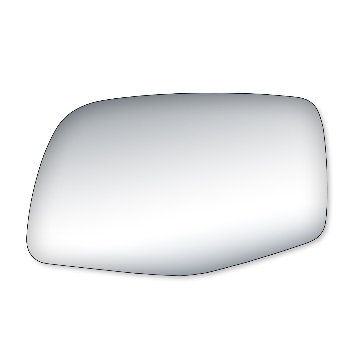 Fit System 90032 Ford Passenger Side Replacement Mirror Glass