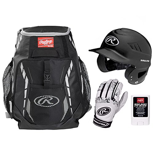 Rawlings Baseball Ready Bundle, Black by Rawlings