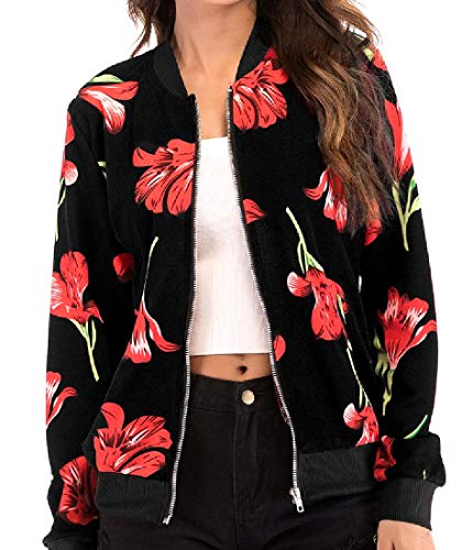 Print Women Jersey 13 with Pockets Slim Digital Casual Jacket Howme ZE6wxqCx