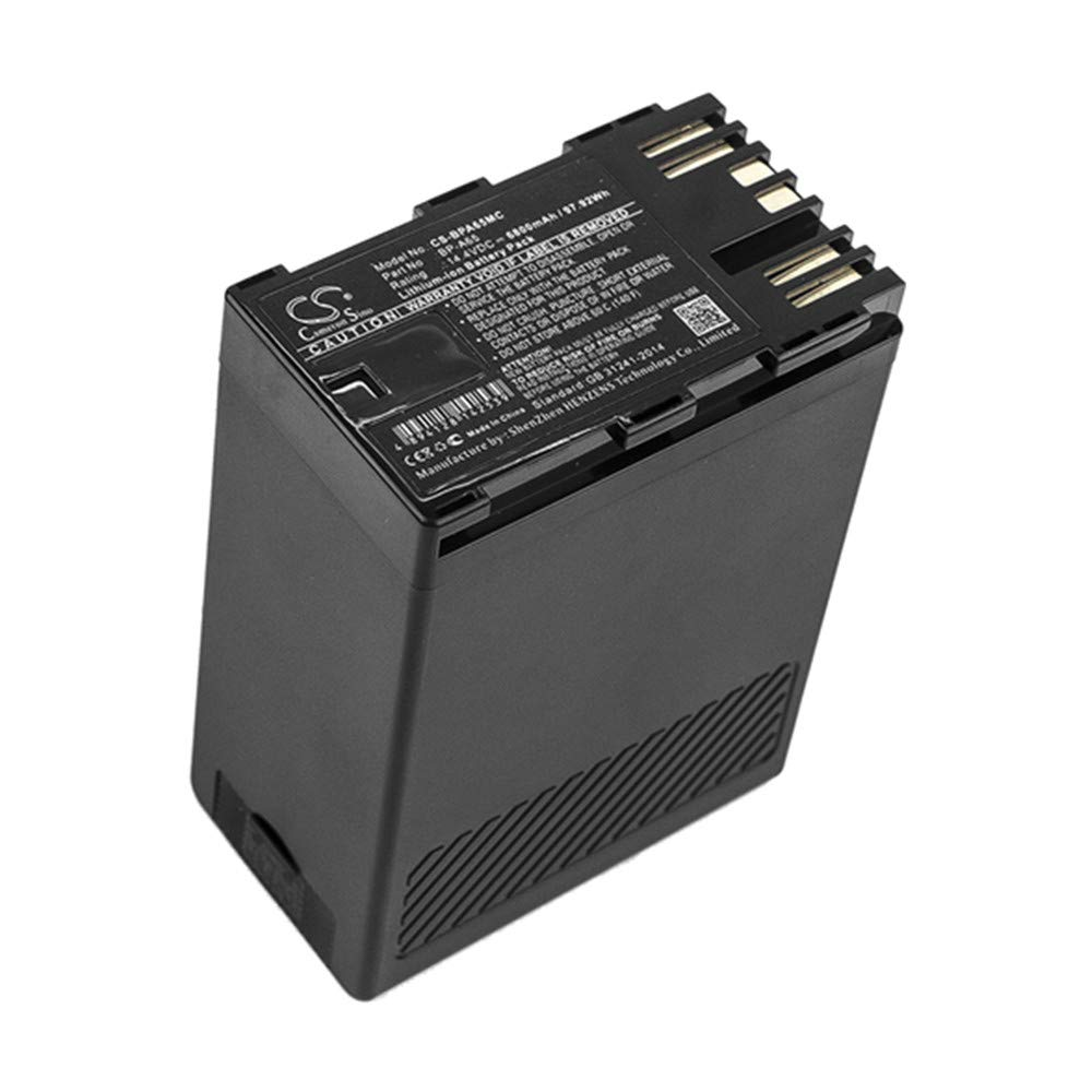 TEVAN Replacement Battery for 6800 mAh Li-ion Canon CA-CP200L EOS C200 EOS C200 PL EOS C200B EOS C300 Mark II EOS C300 Mark II PL XF705 by TEVAN