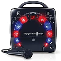 Singing Machine SML283BK CDG reproductor de karaoke