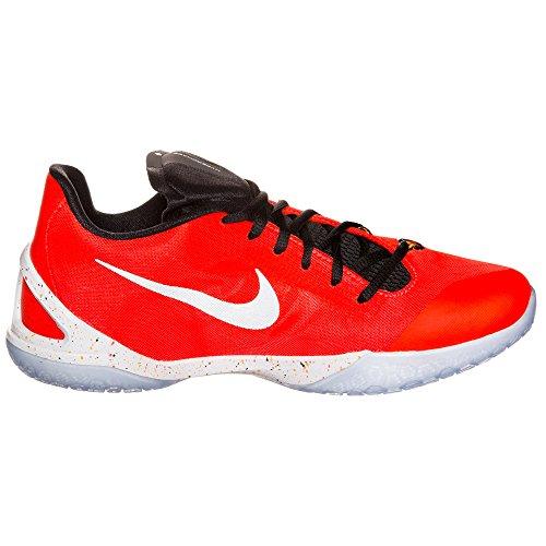 Nike Hyperchase Basketball Herrenschuhe Crimson / Weiß / Schwarz