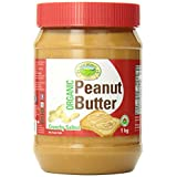New World Foods Peanut Butter, Crunchy Salted Organic, 1Kg