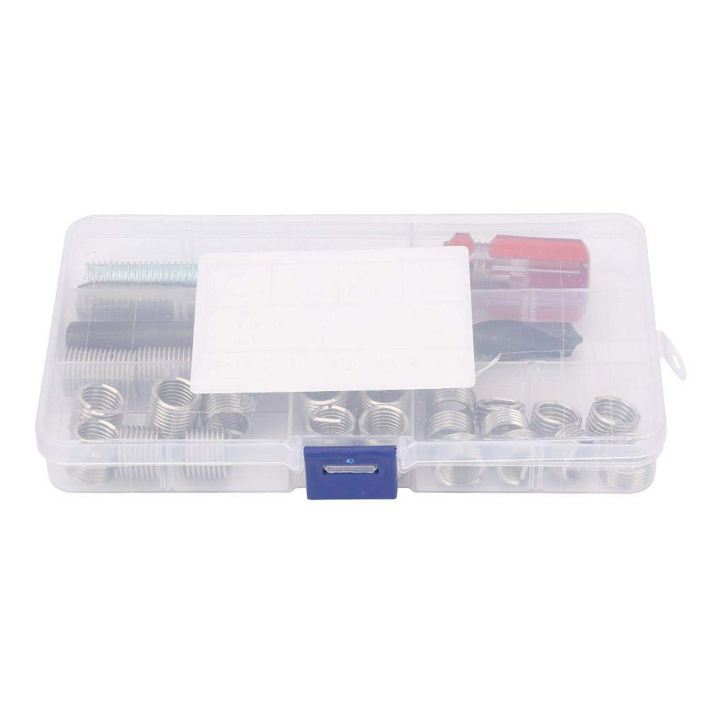 29pcs Threaded Inserts Repair Kit Stainless Steel Helicoil Type Wire Insert Installation Set M121.75