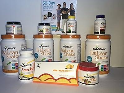 Isagenix 30 Day Weight Loss System Creamy French Vanilla