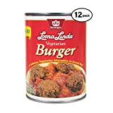 Loma Linda - Plant-Based - Vegetarian Burger (20 oz.) (Pack of 12) - Kosher