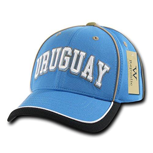 WHANG Lightweight Tournament Jersey Cap_Uruguay_One - Hat Lightweight Jersey