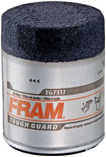 Fram TG7317 Tough Guard Passenger Car Spin-On Oil Filter (Pack of 2) (2003 Honda Cr V Fram Oil Filter)
