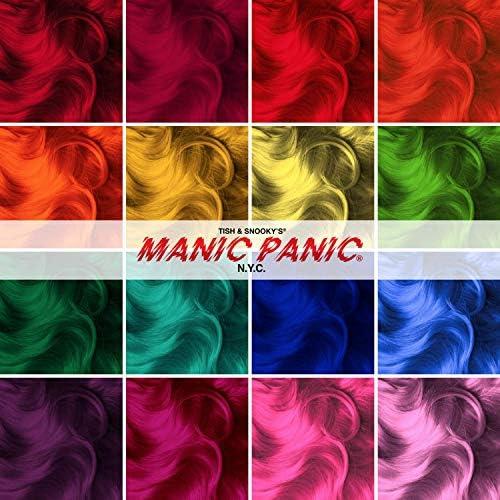 Manic Panic - Flash Lightning Bleach Kit 30 Volume Box Kit Vegan Cruelty Free Hair Bleach 1.3 oz of powder, 4 oz of developer