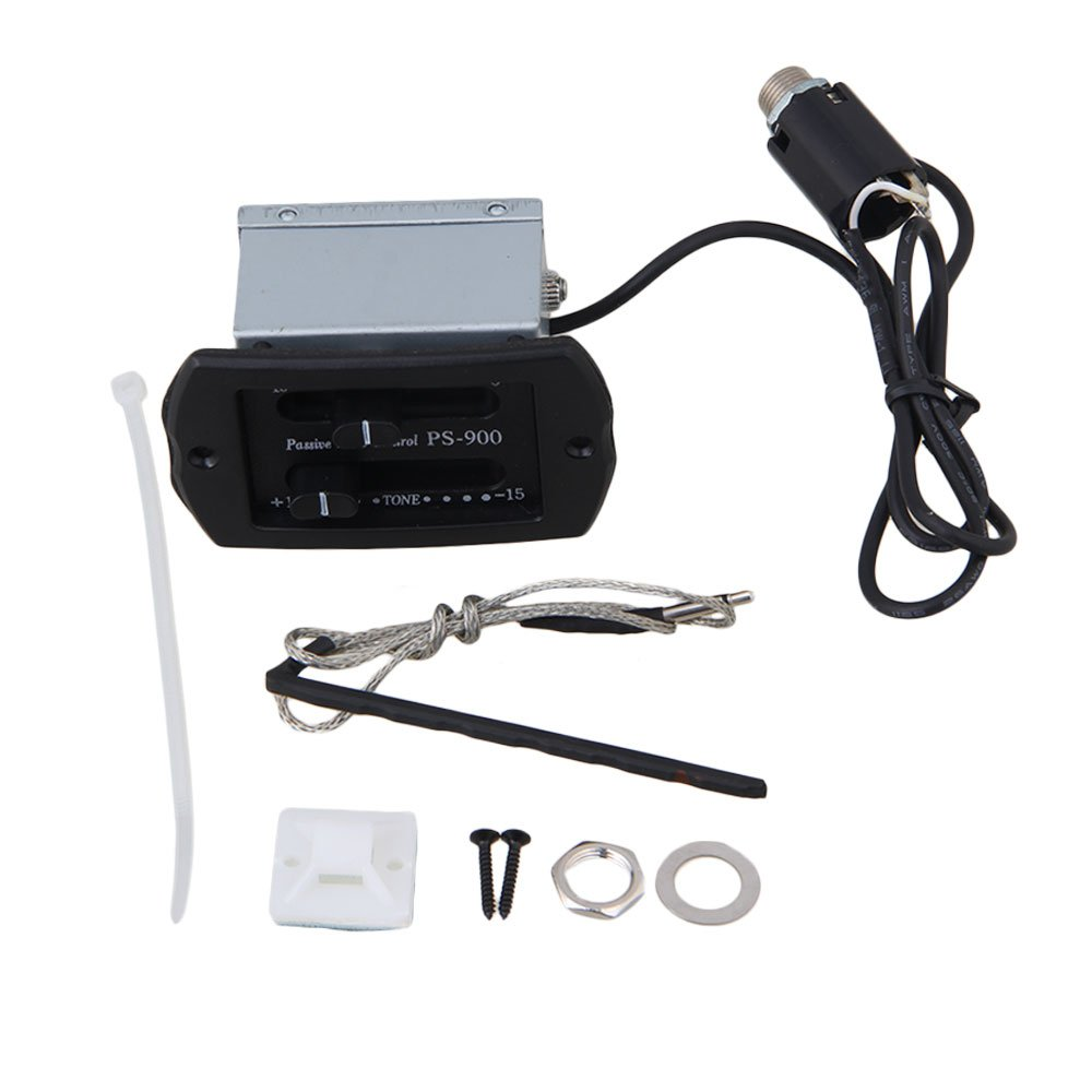 Yibuy PS900 Sec pickup Guitar Piezo Pickup for Acoustic Guitar etfshop Yibuy68