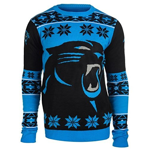 Big Logo Ugly Crew Neck Holiday Sweater