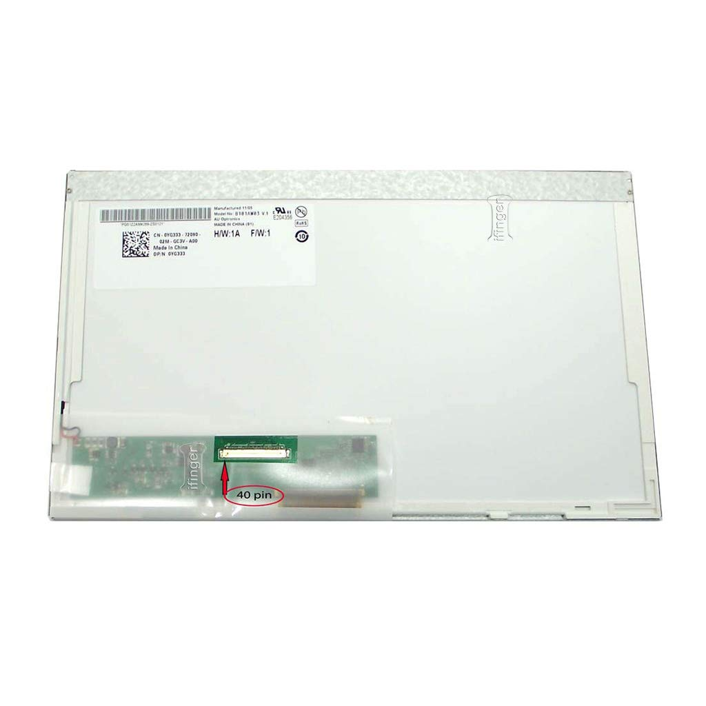 IFINGER Pantalla portatil Nueva HP Mini 110-3000 10.1 LED Brillo