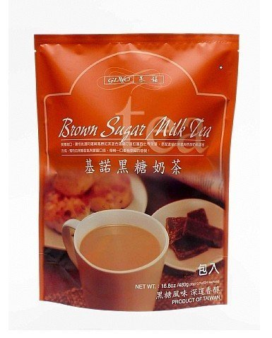 Gino Brown Sugar Milk Tea 12.7 Ounce, Pack of 1