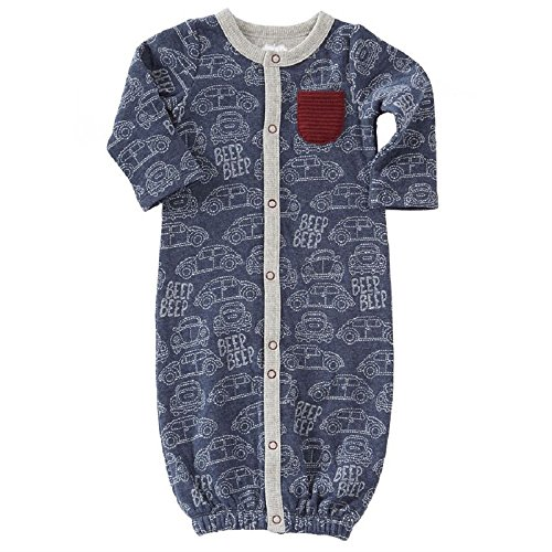 Mud Pie CAR Quilted Convertible Gown
