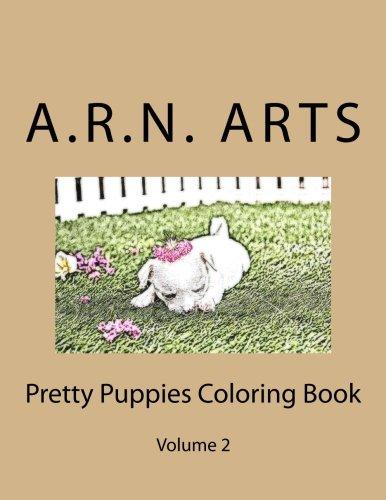 Download Pretty Puppies Coloring Book: Volume 2 PDF