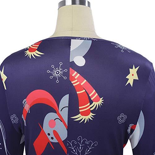 Europeo Costumi Babbo Natale Natale Costumi L Di Americano Delle Prestazioni E Donne Vestire Autunno Cartoon Abiti Vestiti qHqfAFX