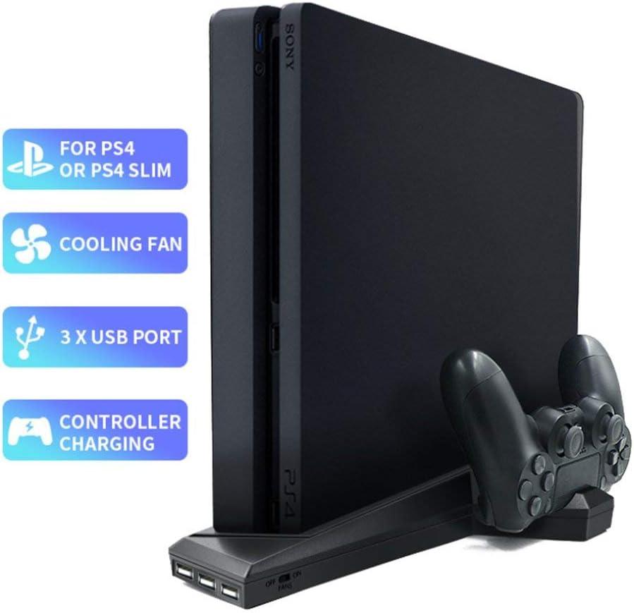 Yaofron - Soporte Vertical con Ventilador de refrigeración PS4/PS4 ...