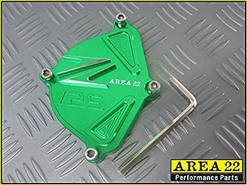 Area 22 Kawasaki Z125 Pro Sprocket Cover GOLD