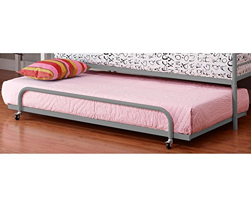 DHP Separate Trundle Metal Daybed