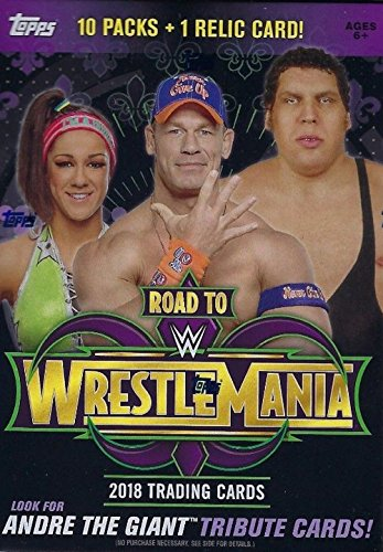 (WWE Authentic Wear WWE 2018 Topps Road to WrestleMania Value Box)