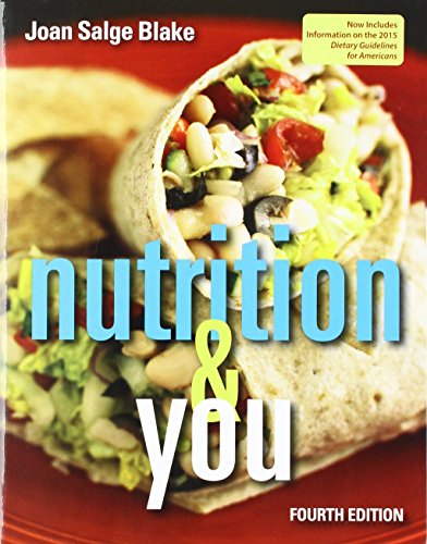Nutrition & You; Modified Mastering Nutrition with MyDietAnalysis with Pearson eText -- Standalone Access Card -- for Nutrition & You; 2015 Dietary Guidelines Update (4th Edition)