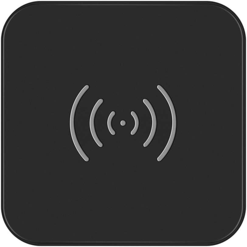 CHOETECH Cargador Inalámbrico Rápido, Qi Wireless Charger 7.5W para iPhone SE 2020/11/11Pro MAX/XS/X/XR/8 Plus,10W para Samsung Galaxy S20+/S10/Note10/S10E/S9/S8+/S8, Airpods2/Xiaomi 9/Huawei P30 Pro