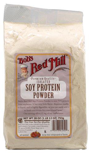 Polvo de proteína de soja de Bob molino rojo - 28 oz