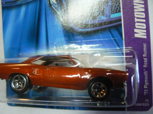 Hot Wheels 2007 Motown Metal '70 Plymouth Road Runner #088/223