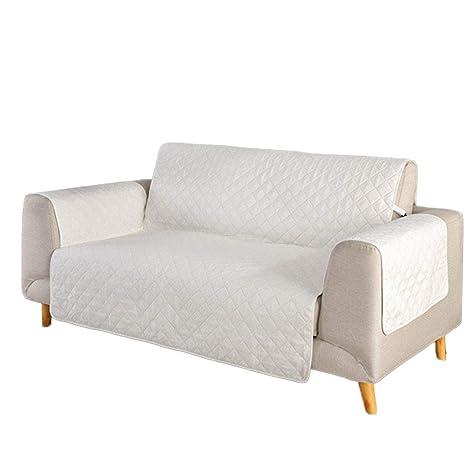 SANDM Color sólido Reversible Funda para sofá, Protector ...
