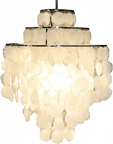 Aero Snail 3-Light Round Chandelier