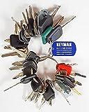 Keyman 42 Keys Heavy Equipment Key Set / Construction Ignition Keys Set