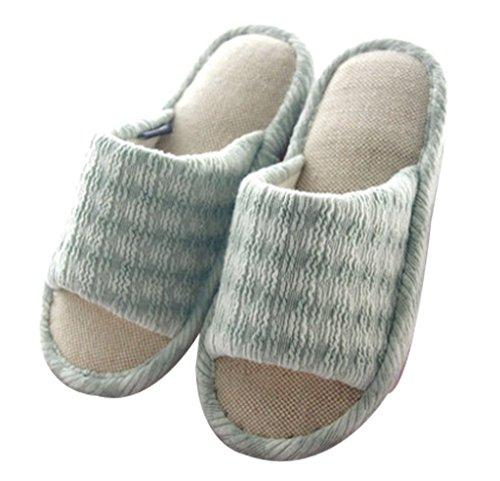Pantofole Da Donna Cattior Indoor Pantofole Casa Verde