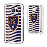 Keyscaper MLS Real Salt Lake Wave Clear for Galaxy S7, Black