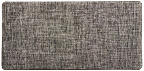 Chef Gear Cabernet Anti-Fatigue 24 x 36 Basket Weave Printed Kitchen Mat