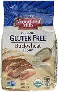 Arrowhead Mills Organic Gluten Free Buckwheat Flour, 2 Pound