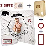Reives-Baby-Monthly-Milestone-Blanket-for-Boys-Girls-Newborn-Unisex-Photo-Props-Perfect-Baby-Shower-Gift-Premium-Thick-Fleece-250-GSM-Personalized-Swaddle-Free-Frames-and-Designed-Cardbox