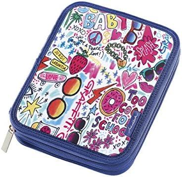 Miquelrius - Plumier doble graffiti girl jordi labanda multicolor: Amazon.es: Oficina y papelería