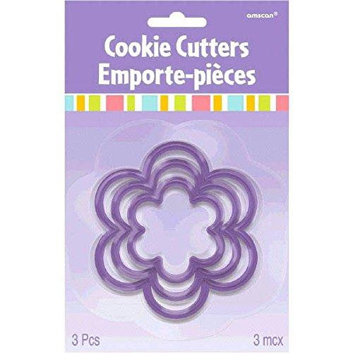 4 flower cookie cutter - 3