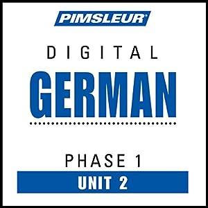 German Phase 1, Unit 02 Audiobook