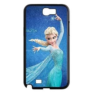 Samsung Galaxy N2 7100 Cell Phone Case Black Frozen Elsa Disney Illust VIU182534